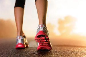 Runner racing